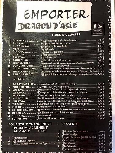 DRAGON D'ASIE