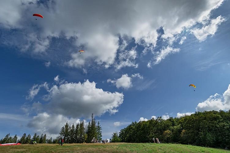 Espace du vent des Monédières (Chaumeil)