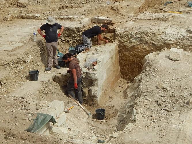 Le château du Haut-Clairvaux, résultats des fouilles 2017