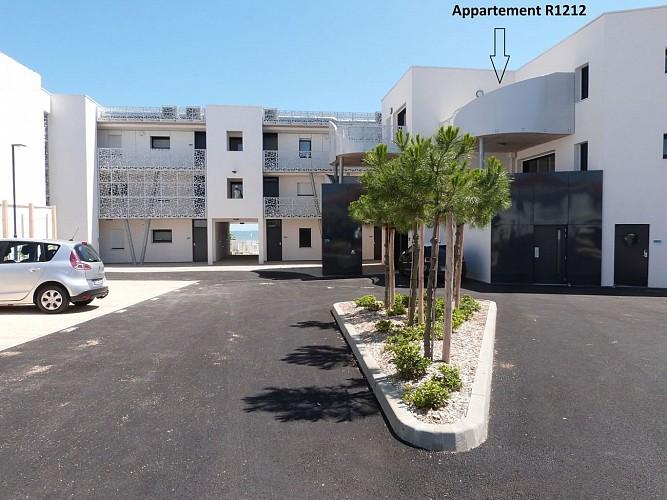 Agréable appartement 4/6 pers Résidence le Rêve*** avec accès direct à la plage centrale, coeur de ville La Tranche/Mer