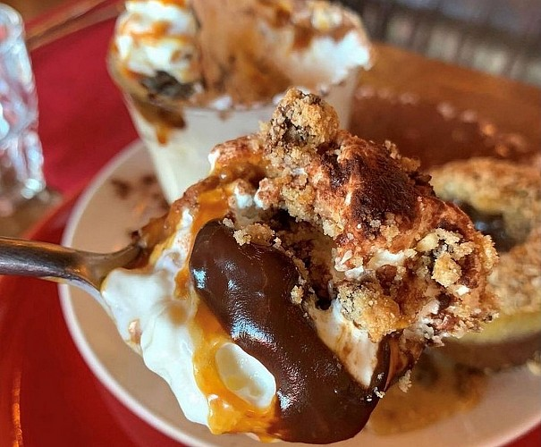 Café Grand Biarritz burger vegetarien