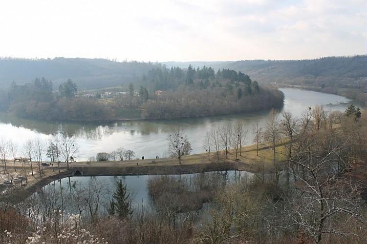 Cité médiéval de Liverdun et le château Corbin