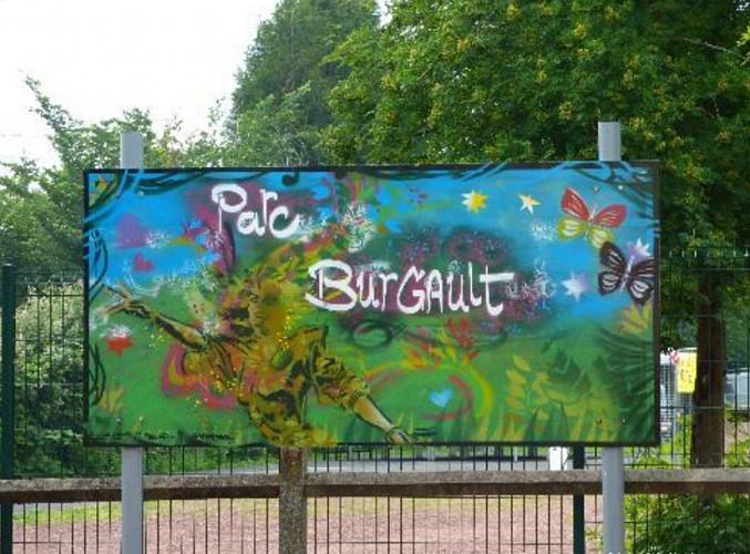 Fresques réalisées lors de la fête de quartier Burgault