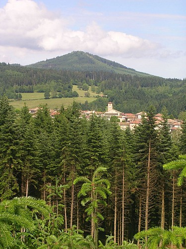 Le mont Tourvéon