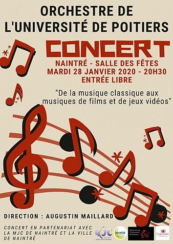 Concert de l'Orchestre de l'Université de Poitiers