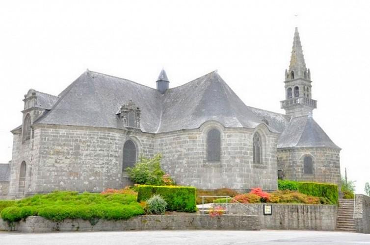 Départ de la place de l'église