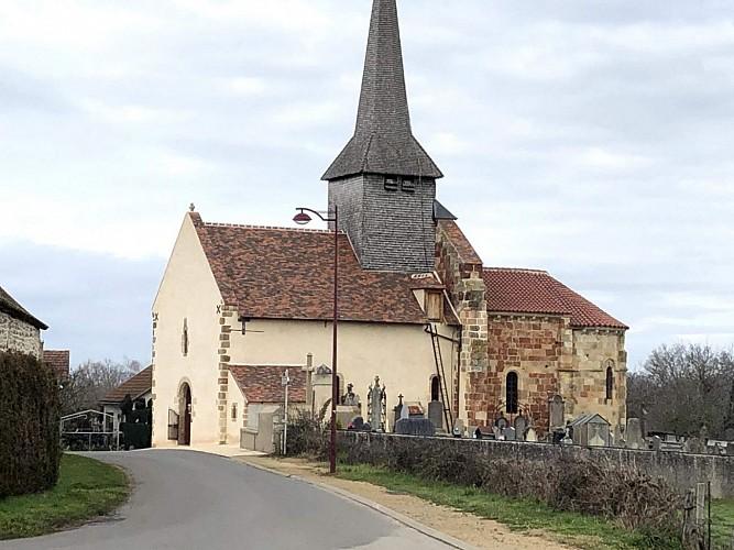 Eglise Saint-Romain de Tortezais