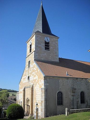 Mauvage - église Saint-Pantaléon
