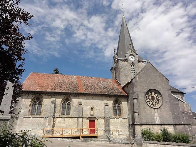 Dammarie-sur-Saulx - église de la Nativité de la Vierge