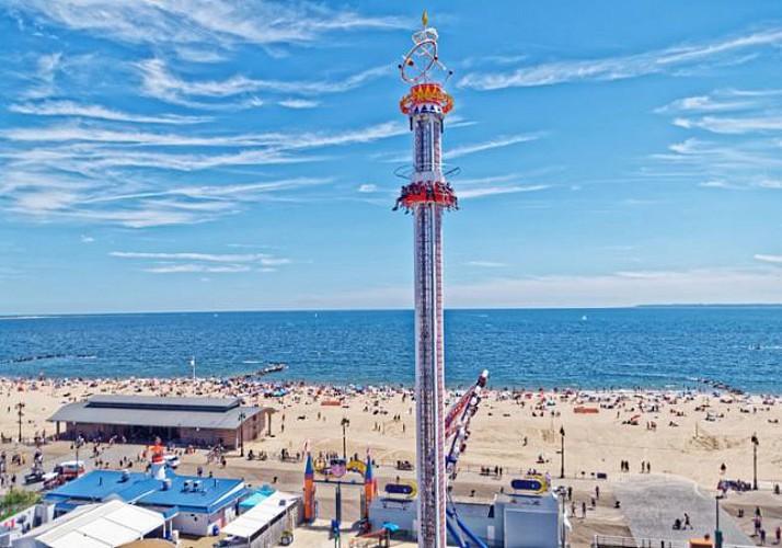 Billet Luna Park à Coney Island - New-York