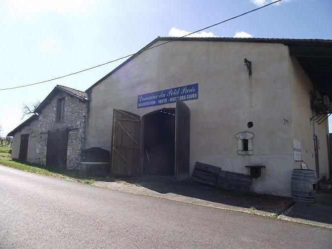 Extérieur bâtiments côté route