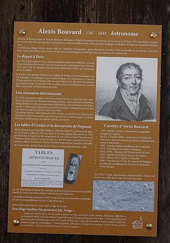 Maison natale Alexis Bouvard, astronome