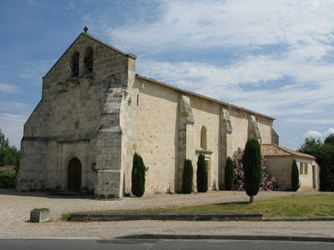 Point de départ - Eglise de Saint Yzan de Soudiac