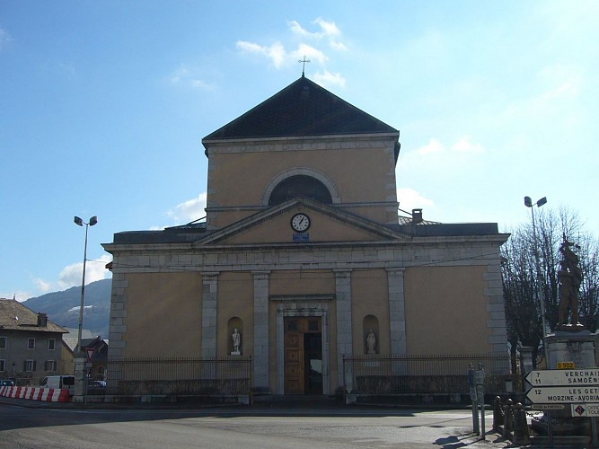 Eglise Saint Jean-Baptiste de Taninges