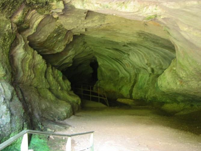 """Grotte et reculée de Corveissiat, """"ENS"""" de l'Ain"""