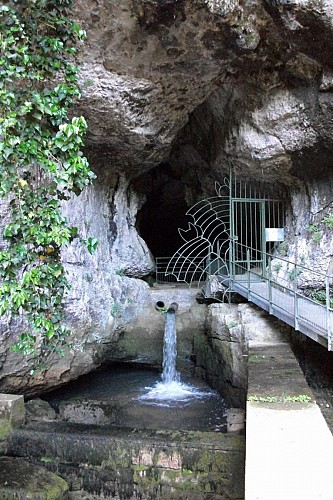 Grotte et reculée