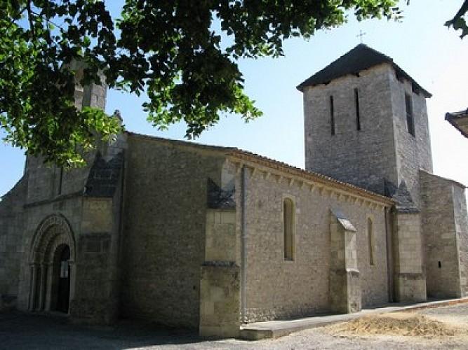 L'église de Générac