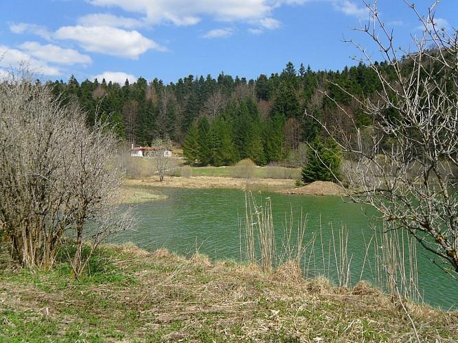 La Pérouse et les étangs Marron