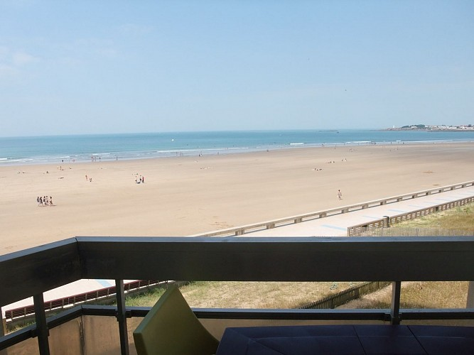 APPT FRONT MER DIRECT PLAGE - 4 PERS