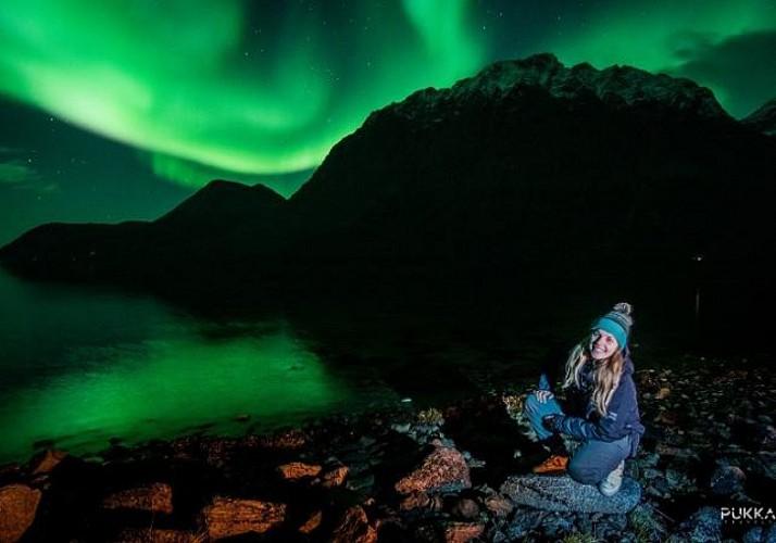 Excursion en minibus à la découverte des aurores boréales - Au départ de Tromso
