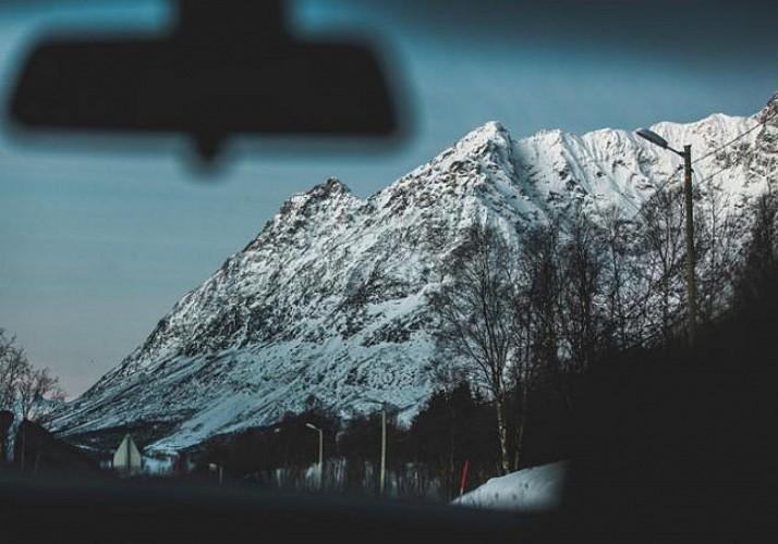 Excursion en minibus dans les fjords norvégiens - Au départ de Tromso