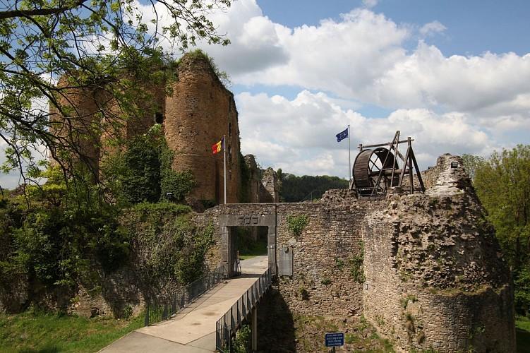 Château de Franchimont - Theux - Drapeau