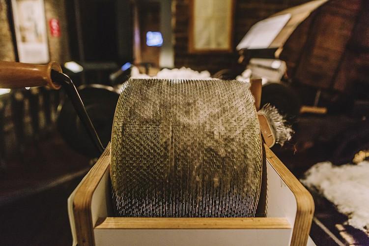 CTLM - Verviers - Etape du filage du coton