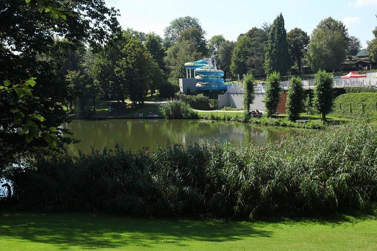 Domaine provincial de Wégimont - Wégimont - Piscine