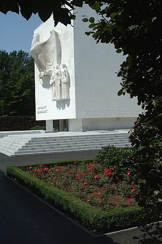 Hombourg - Cimetière américain d'Henri-Chapelle