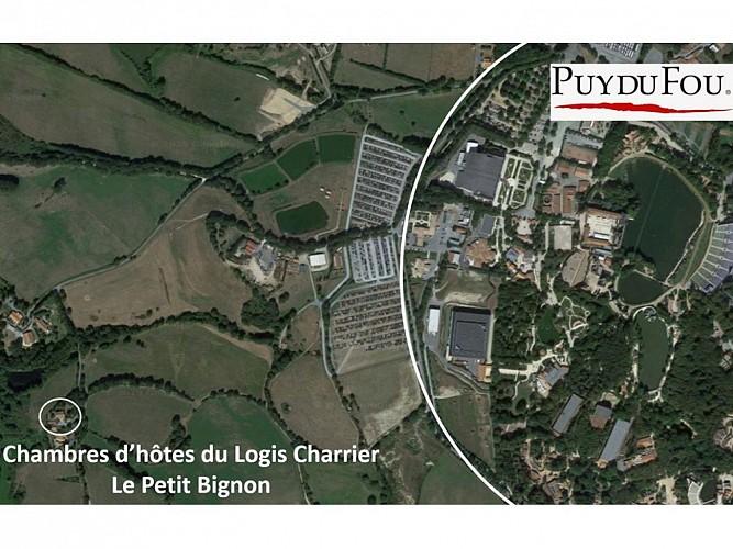 LOGIS CHARRIER LE PETIT BIGNON - CHAMBRE LES VERSAINNES