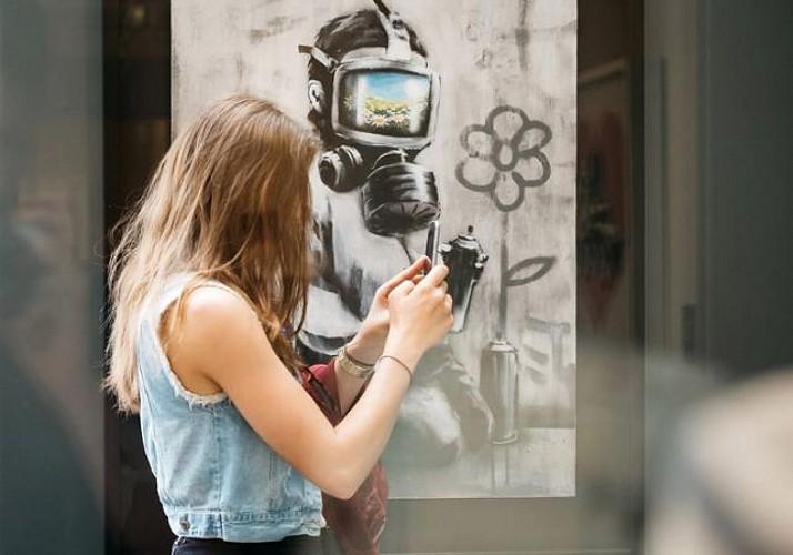 Billet coupe-file Musée Moco - Exposition Banksy - Amsterdam
