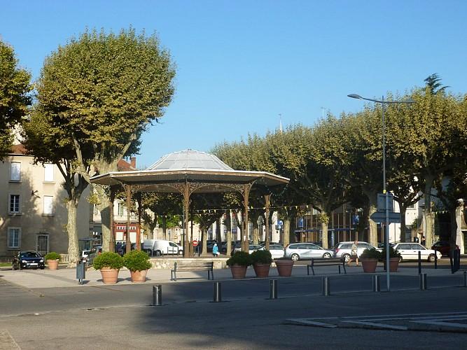 Kiosque de la Place Jules Nadi