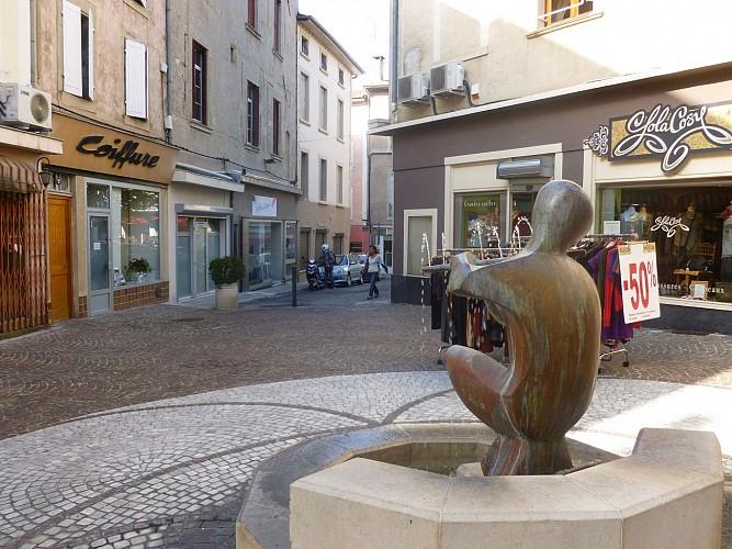 Fontaine du Flûtiste