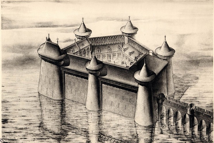 Le château de Selles