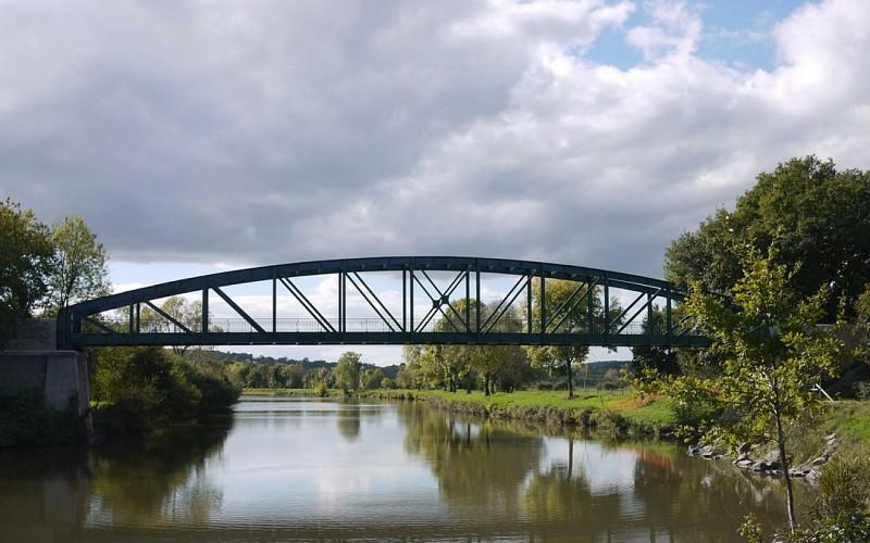 Le pont du Grand Pas - La Paillote du pont
