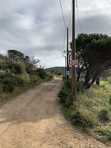 chemin interdit