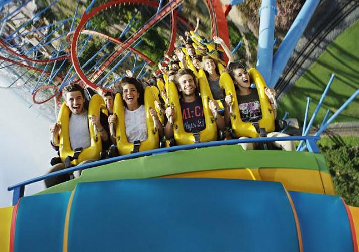 Tickets for PortAventura Amusement Park & Ferrari Land – Transport from Barcelona included - 1 day