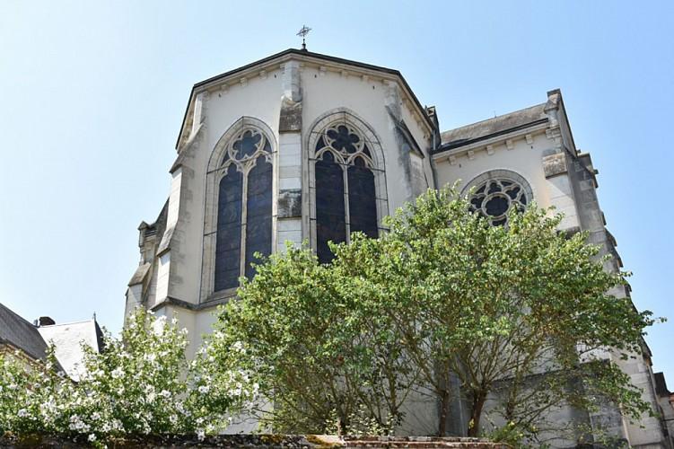 Châtillon sur Loire - Eglise St Maurice chevet- 26 juillet 2018 - OT Terres de Loire et Canaux - IRémy  (19)