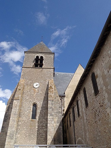 Beaulieu sur Loire - Eglise St Etienne - 20 aout 2016 (1) - OT Terres de Loire et Canaux - I.Rémy