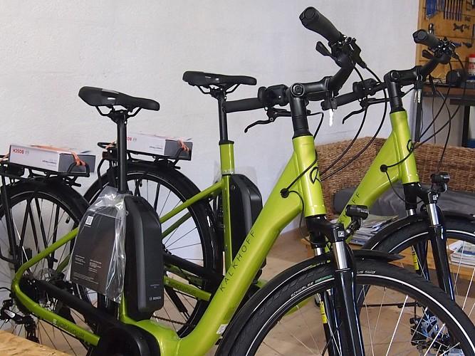 Stations Bee's Villereal_Location Vente Vélos électriques_Atelier tous vélos