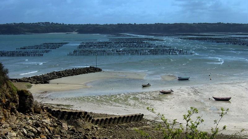 vue sur la baie de la Fresnaye et la côte de Saint-Cast