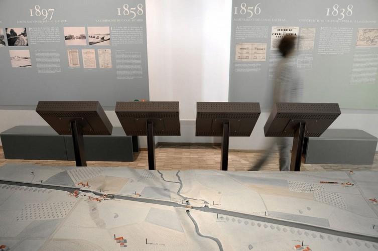 Musée Le Réservoir : Espace découverte du Canal du Midi
