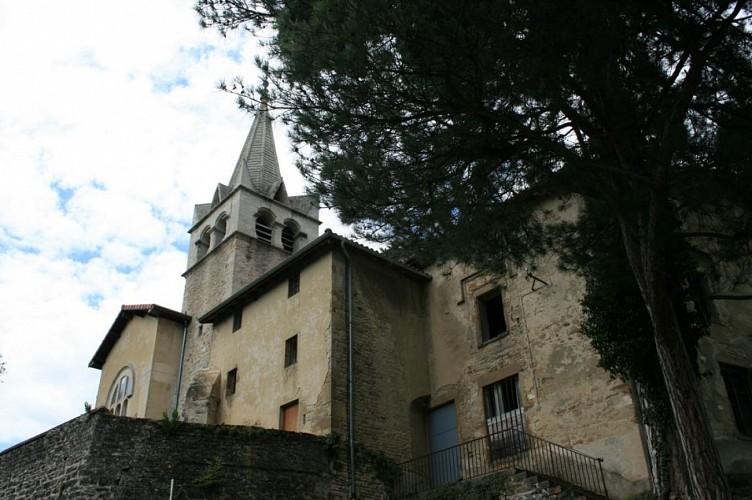 Egilse et ancien prieuré