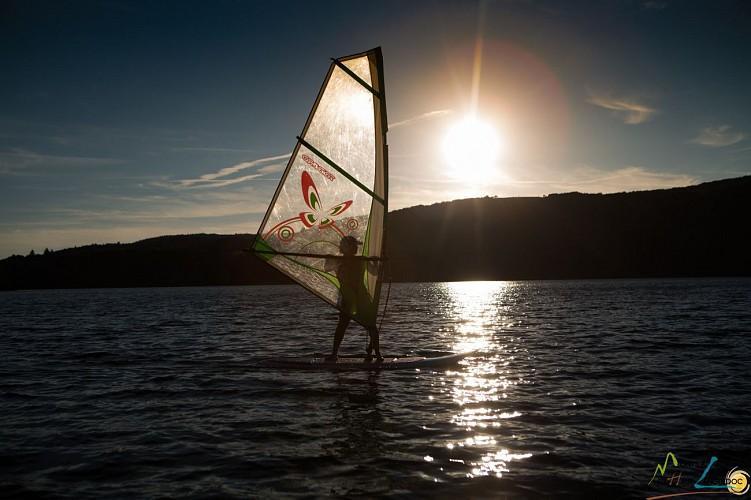 """Base nautique du Haut-Languedoc """"Location de Planche à Voile (découverte)"""""""