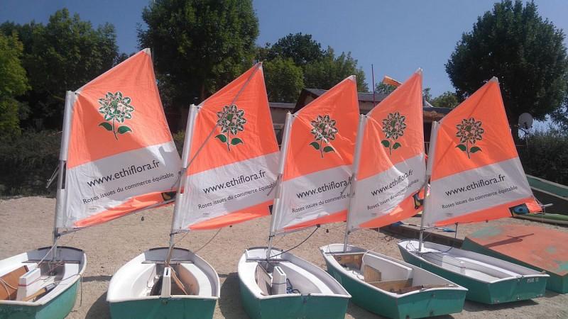 """Base nautique du Haut-Languedoc """"Cours/stages: Optimist"""""""