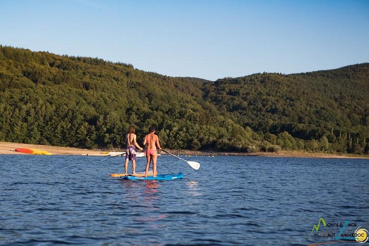 """Base nautique du Haut-Languedoc """"Cours de Stand up paddle"""""""