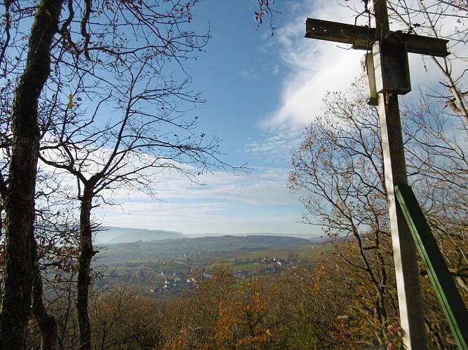 Point de vue Croix de Nonglard