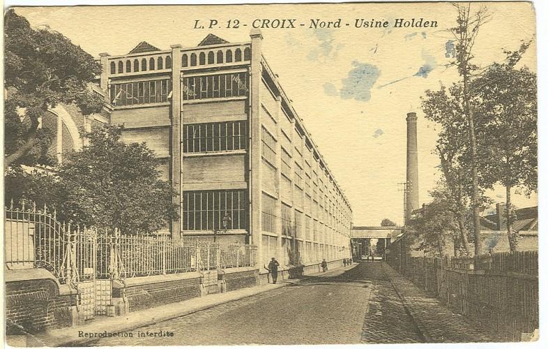 Rue Isaac Holden,