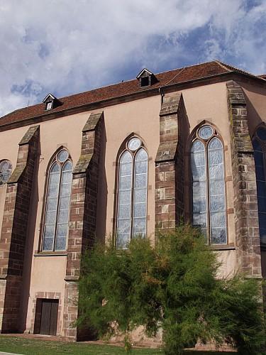 La place et la chapelle des Cordeliers