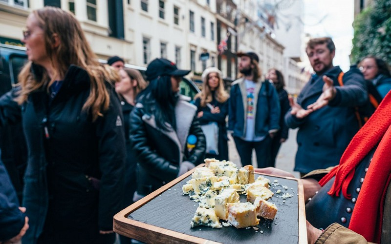 The London Cheese Experience with Interactive Cheese Trivia Quiz